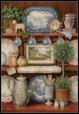 Vintage Cupboard - Chart Counted Cross Stitch Patterns Needlework DIY DMC 14 ct