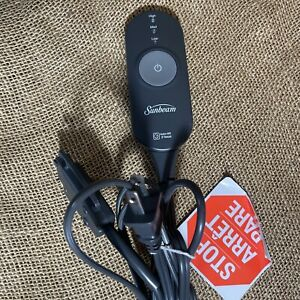 Sunbeam AA85 Electric Heating Blanket Power Cord 3-Prong Controller