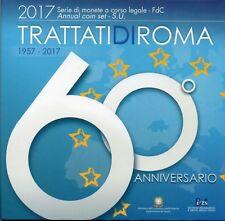 SERIE EURO BRILLANT UNIVERSEL (BU) - ITALIE 2017 TRAITE DE ROME 60 ANS