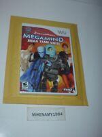 New MEGAMIND: MEGA TEAM UNITE game for Nintendo Wii system - Factory Sealed !!