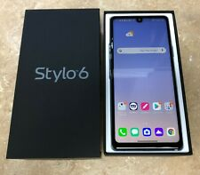 --NEW LG Stylo 6 Q730MM - 64GB - White (Metro PCS ONLY) 4G LTE OPEN BOX