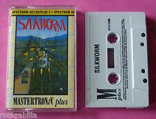 Sinclair ZX Spectrum - Mastertronic SILKWORM Tecmo 1990 *NEW!
