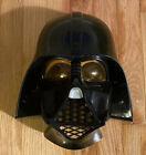 Used Vintage 2008 Darth Vader Youth Halloween mask Star Wars