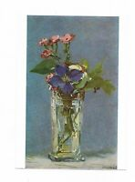 """AK, Künstlerkarte von Eduard Manet, """"Blumen im Glas"""", Buchheim Kunstkarte"""