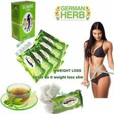 50 BAGS SLIMMING CHINESE GREEN TEA HERBAL BURN FAT DIET WEIGHT DETOX LOSS DRINK