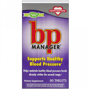 Nature's Way, BP Manager, 90 Tablets