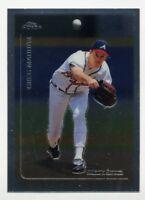 1999 Topps Chrome GREG MADDUX Rare BASE BASEBALL CARD #16 Atlanta Braves HOF