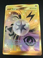 Unit Energy SECRET RARE FULL ART 171/156 Pokemon SM Ultra Prism NM 2018