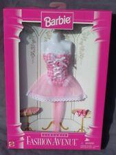 barbie lingerie FASHION AVENUE tenue accessoire 1996 Mattel 14292 bustier rose