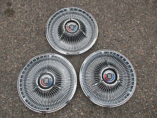 1967 CHRYSLER 300 HUBCAPS WHEELCOVERS OEM 14""