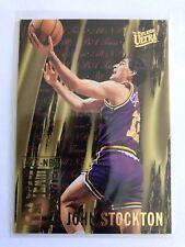 1995-96 Fleer Ultra NBA Basketball Card #5 John Stockton