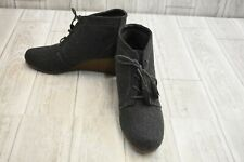 Dr. Scholl's Kennedy Wedge Bootie - Women's Size 9 M - Gray