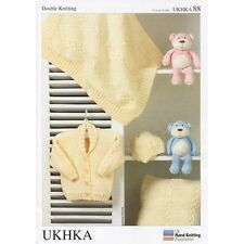 "UKHKA DOPPIA knitting pattern 88 Giacca Cappello aperto, Cuscino, 31 - 51 CM 12-20 """