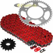 Red O-Ring Drive Chain & Sprockets Kit Fits HONDA CBR600F4 CBR600 F4 1999 2000
