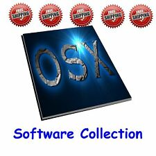Huge MAC OSX  Software Collection - over 25 programs for the Apple Mac
