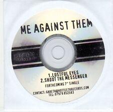 (EJ48) Me Against Them, Lustful Eyes / Shoot The Messenger - DJ CD