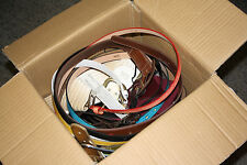 JOB LOT of 25 Ladies Assorted Belts, *VARIOUS SIZES AND STYLES* SECONDS