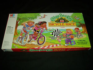 CABBAGE PATCH KIDS BICYCLE RACE GAME GAME MILTON BRADLEY 1990 RARE GAME!