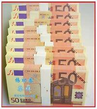 PRECIOSA REPLICA DE BILLETE DE 50 EUROS / GRAN CALIDAD - NUEVO PLANCHA OFERTA