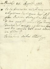 Cernusco Asinario - Certificazione di Debito Settecentesca 1767