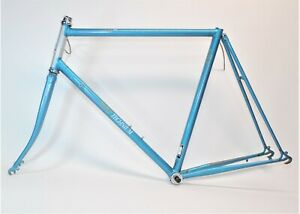 "VINTAGE RALEIGH 440 TECHNIUM 27"" WHEEL BICYCLE 59 CM FRAME & FORK 126 MM"
