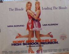 Lisa Kudrow ROMY AND MICHELES HIGH SCHOOL REUNION(1997) UK quad movie poster