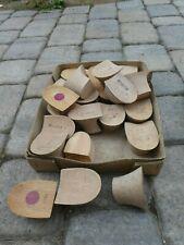 Schuster Schuhmacher Sattler Karton mit Holzabsätzen   -1-