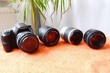 Sony Alpha A58 l wie NEU I 4x Objektiv l SLT Spiegelreflex Kamera 20MP FULLHD