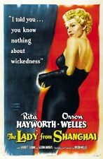 Lady From Shanghai Movie Poster 24x36