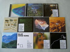 BLUR job lot of 11 promo CD singles Country House M.O.R. Coffee + TV Tender