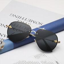 04f22b038ed5 New Fashion Rimless Sunglasses Men Women Vintage Gold Small Bee Sun Glasses