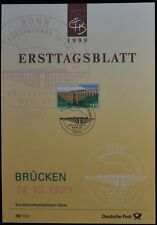 Germany 36/1999, Bridges Ersttagsblatt