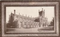 Postcard - Cheltenham - The College