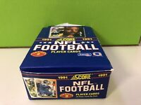 1991 Score Football Series 2 Box Unopened Packs