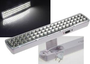 Notbeleuchtung Notleuchte Akku Lampe Stromausfall Leuchte 60 LED's 21506