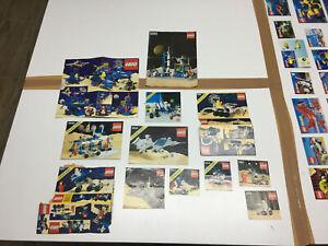 Lego Space / LEGOLAND 920 6930 891 6929 6828 889 886 6827 Aufbauanleitungen