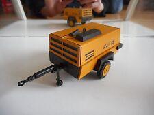 NZG Atlas Copco XAS 85 Generator in Orange on 1:25