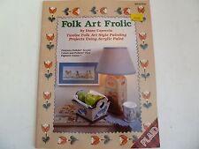Folk Art Frolic Tole Painting Using Acrylic. Capoccia. 12 Projects Plaid 8733