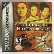 GBA Crouching Tiger Hidden Dragon (2003), Brand New & Factory Sealed
