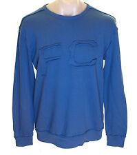 BNWT Herren Authentisch French Connection Sweatshirt Pullover Blau