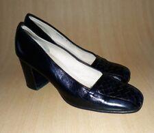 Bottega Veneta 8 B Block Toe Leather pump Heels women's Shoes
