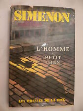 L'Homme au Petit Chien. Georges Simenon. 1st French Edition. 1964 with DJ.