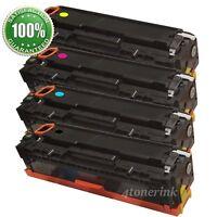 4PK CF400X Color Toner Cartridge Set For HP 201X LaserJet M252dw MFP M277dw