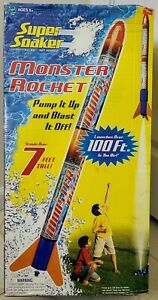 Vintage Super Soaker Monster Rocket - Launches Over 100 Ft. In The Air - New