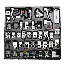 1set 42pcs Presser Foot Feet For Brother Singer Domestic Sewing Machine Part Hot