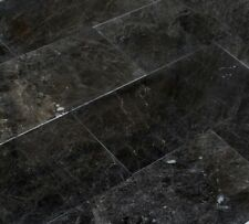 "Sirius Black Polished Marble Tiles - Sample Order 4""x4"""