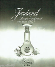 PUBLICITE ADVERTISING 026  1978  Jean Desprez parfum Jardanel