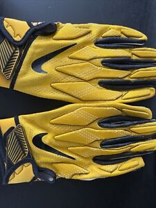 Nike NFL Superbad 4.5 XL Pittsburgh Steelers Football Gloves