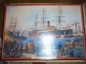 Waddingtons Deluxe 2000 piece jigsaw puzzles vintage