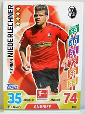 Match Attax 2017/18 Bundesliga - #108 Florian Niederlechner - SC Freiburg